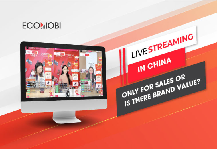 Livestreaming in China: Only for sales or is there brand value?