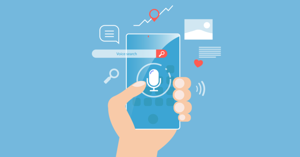 The trend of voice search