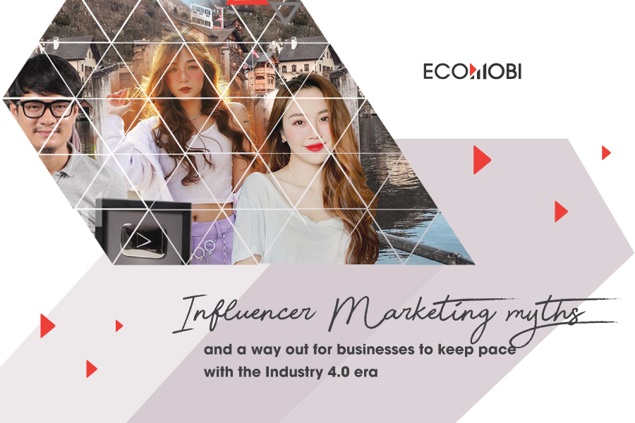 Influencer Marketing myths and a way out for businesses to keep pace with the Industry 4.0 era
