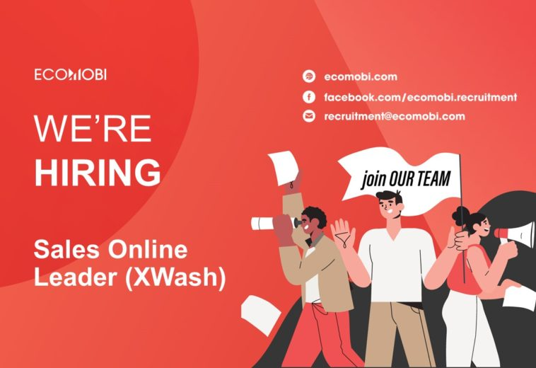 SALES ONLINE LEADER (XWASH) – FULL TIME – HA NOI