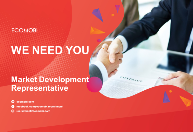 MARKET DEVELOPMENT REPRESENTATIVE | FULL TIME | HANOI