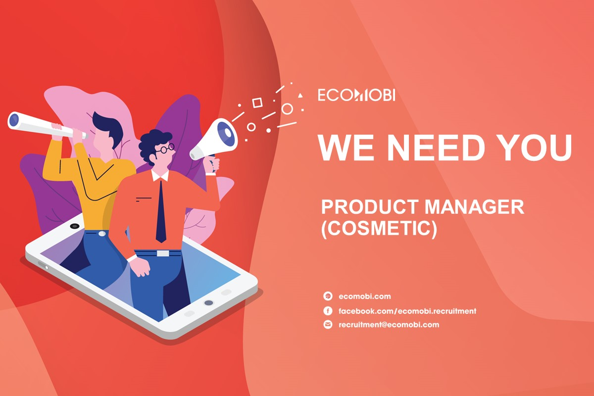 PRODUCT MANAGER (COSMETIC)   FULL TIME   HANOI