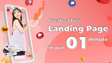 Ecomobi allows all users to create a free Landing Page in just 1 minute