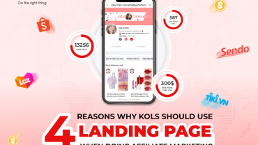 4 reasons why KOL should have a Landing Page when joining Performance Marketing